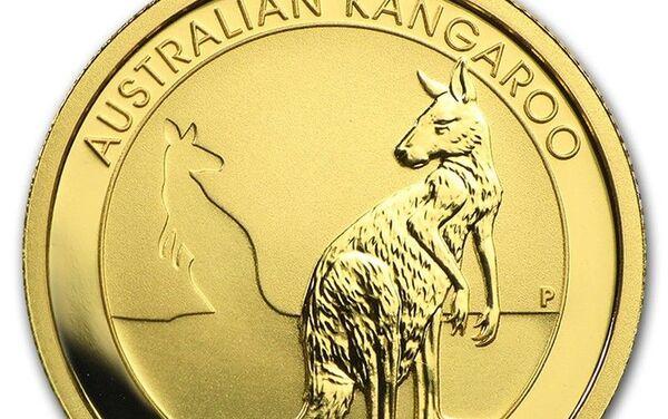 La moneda australiana Canguro - Sputnik Mundo
