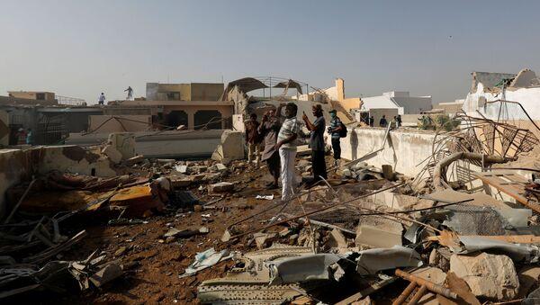 Lugar del accidente del avión Airbus A-320 en Pakistán - Sputnik Mundo