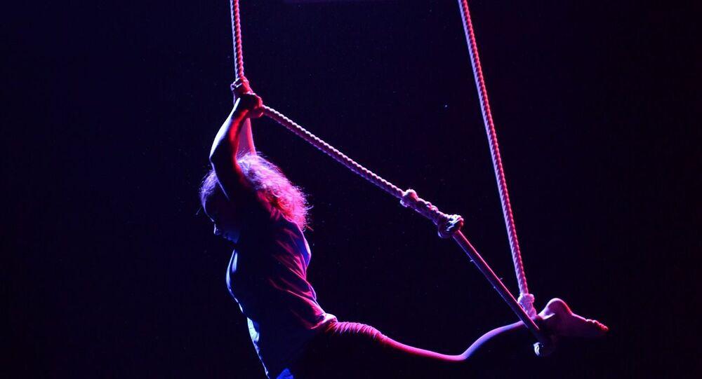 Una trapecista