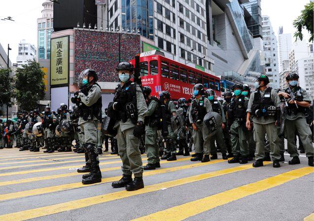 Situación en Hong Kong