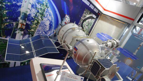 Un modelo del biosatélite ruso Bion-M - Sputnik Mundo