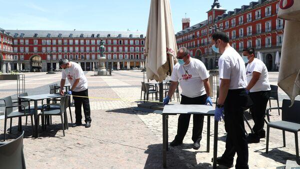 Situación en Madrid - Sputnik Mundo