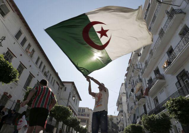 La bandera de Algeria