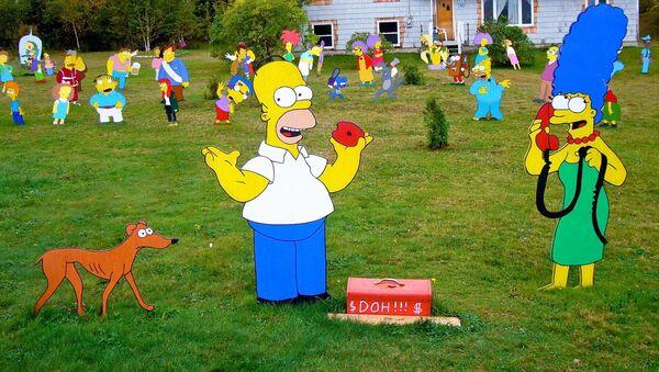 Personajes de los Simpson - Sputnik Mundo
