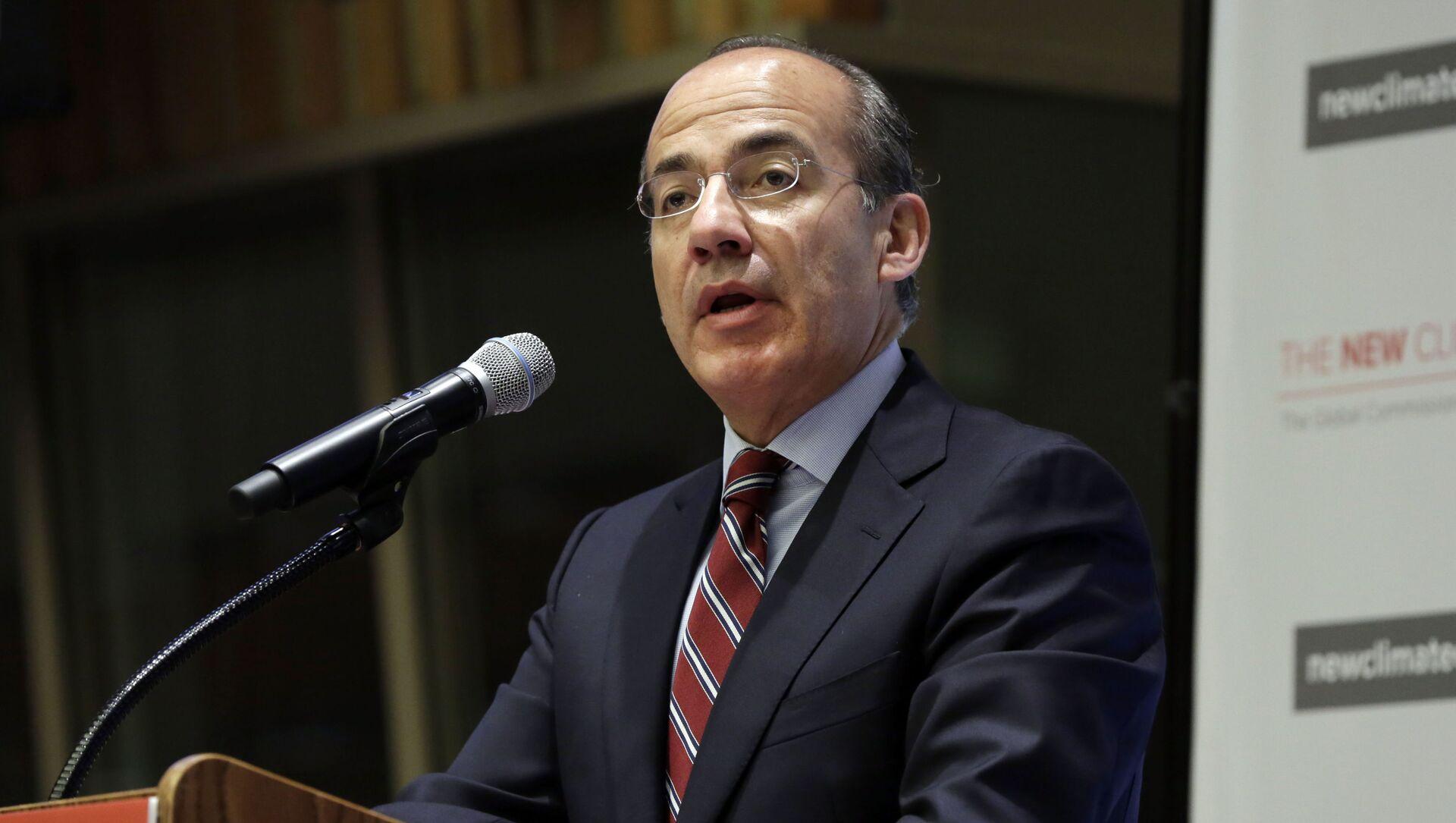El expresidente de México Felipe Calderón - Sputnik Mundo, 1920, 27.01.2021