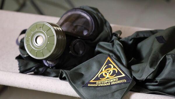 Cómo trabajan los militares rusos en un hospital de campaña en Daguestán - Sputnik Mundo