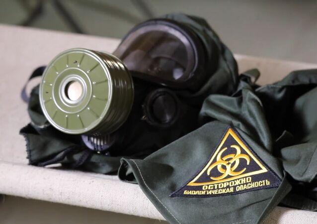 Cómo trabajan los militares rusos en un hospital de campaña en Daguestán