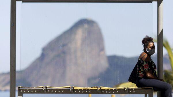 Distanciamiento social en Brasil - Sputnik Mundo