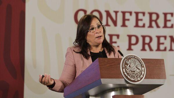 La secretaria de Energía de México, Norma Rocío Nahle García - Sputnik Mundo