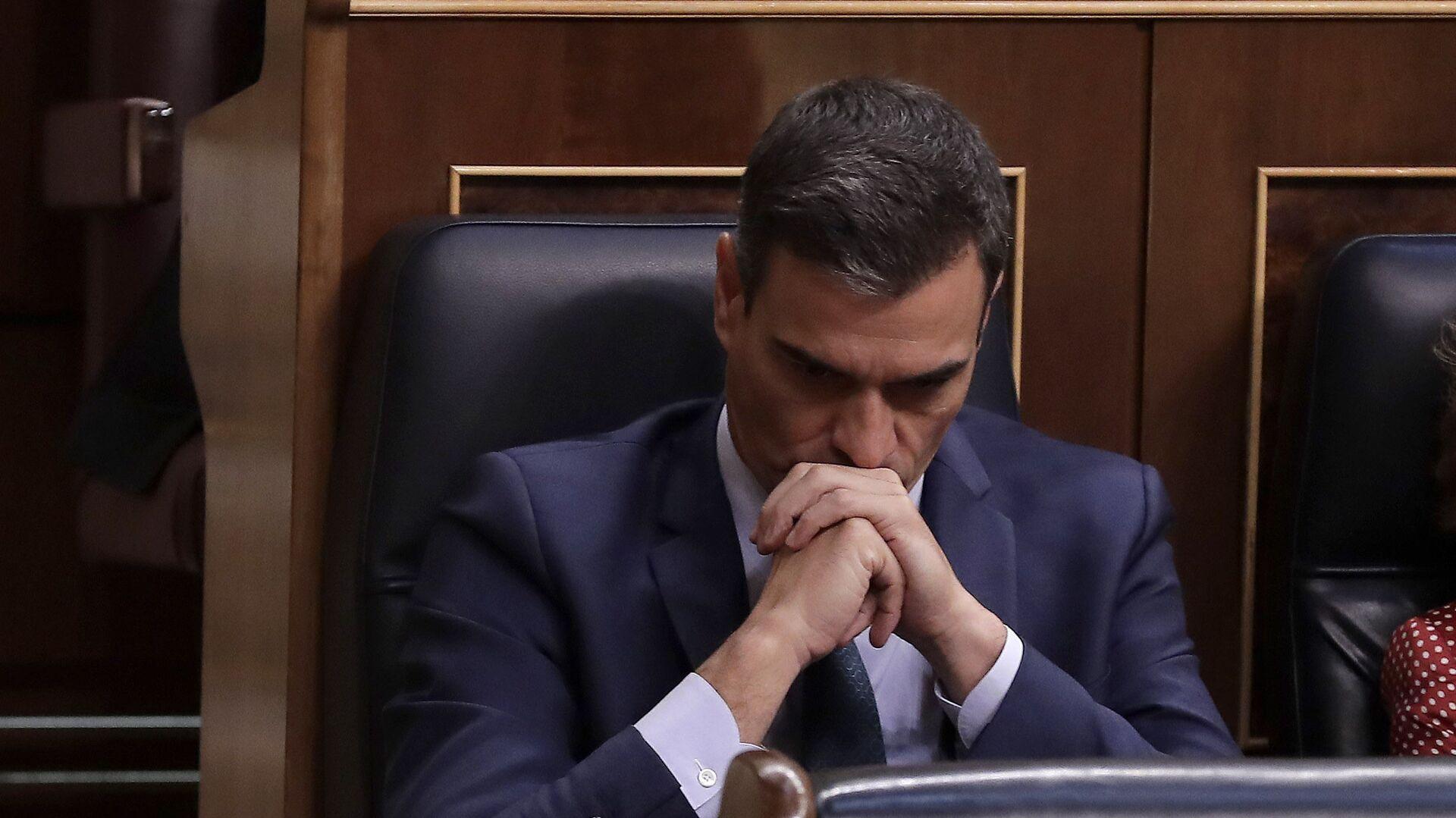 Pedro Sánchez en el Congreso de los Diputados - Sputnik Mundo, 1920, 16.06.2021