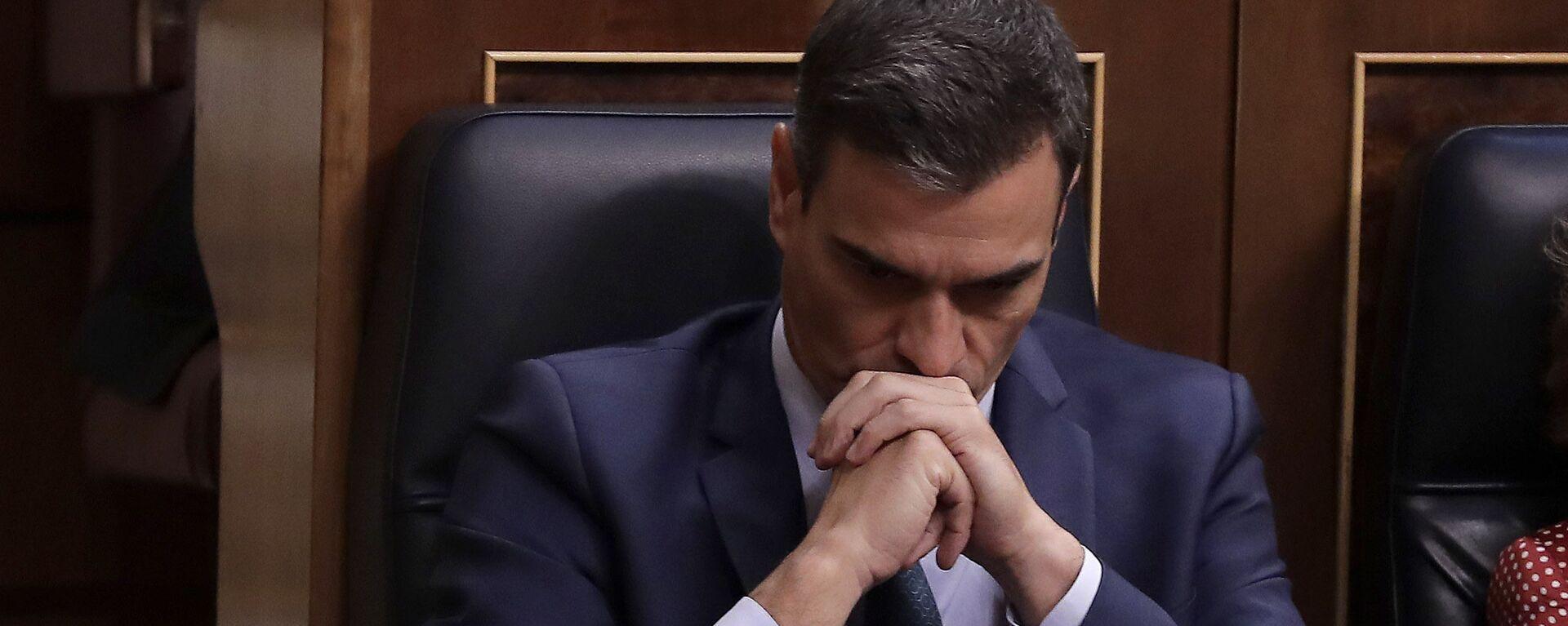 Pedro Sánchez en el Congreso de los Diputados - Sputnik Mundo, 1920, 27.08.2021