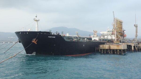 Buque iraní Fortune en Venezuela - Sputnik Mundo