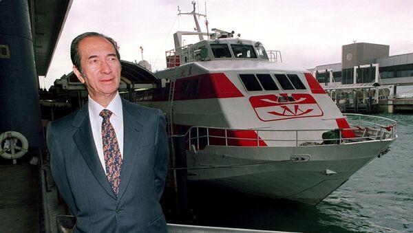 Stanley Ho, magnate de la industria del juego de Macao (archivo) - Sputnik Mundo