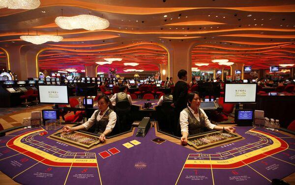 Casino en Sheraton Macao Hotel, Macao - Sputnik Mundo