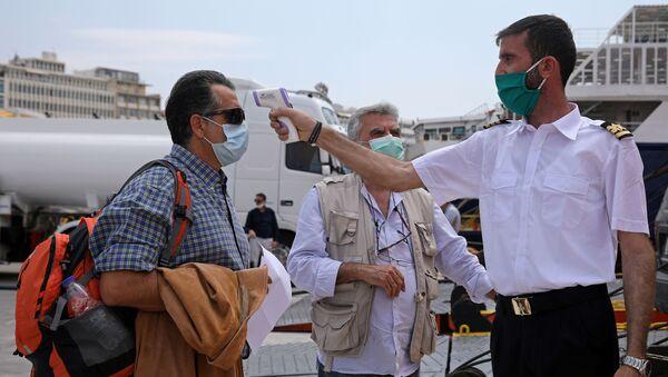 Coronavirus en Grecia - Sputnik Mundo