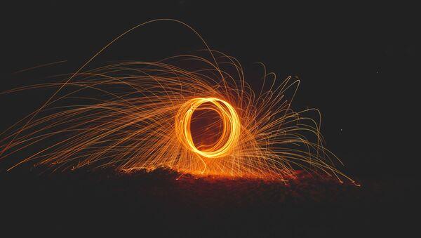 Anillo de fuego, ilustración - Sputnik Mundo
