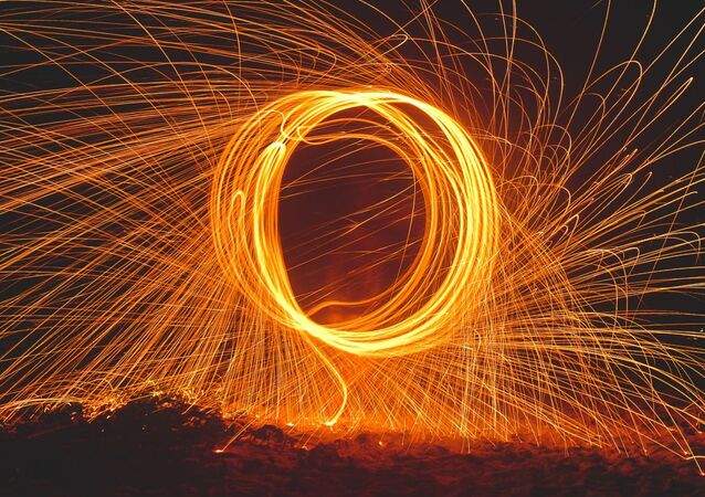 Anillo de fuego, ilustración