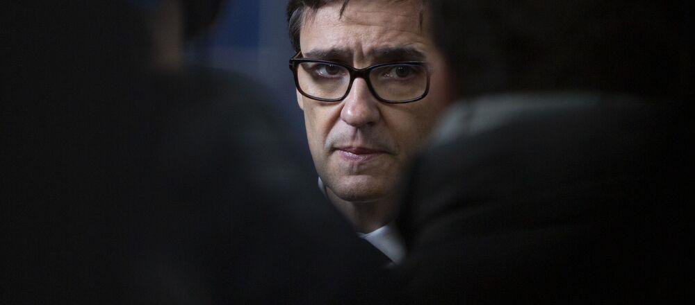El ministro de Sanidad español, Salvador Illa