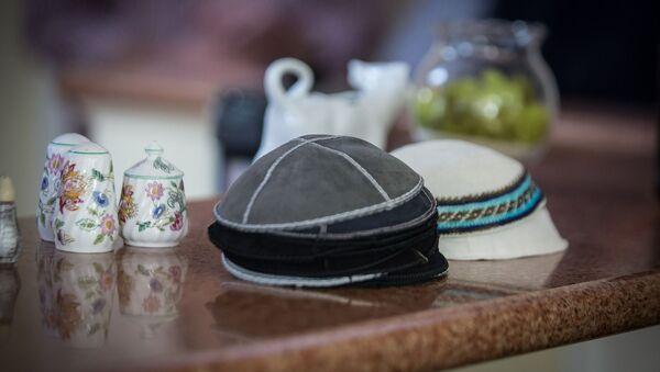 Judíos. Colectividad judía. Kipá. Imagen referencial - Sputnik Mundo