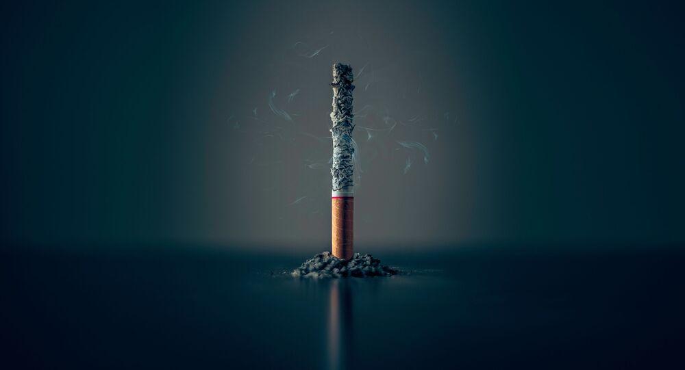 Un cigarillo (imagen referencial)