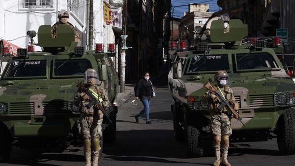 Militares bolivianos - Sputnik Mundo