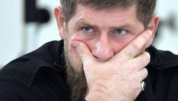 Ramzán Kadírov, líder de Chechenia - Sputnik Mundo
