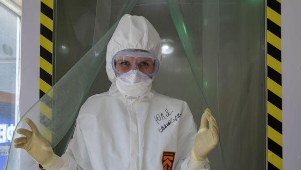 Una médica rusa - Sputnik Mundo