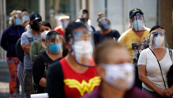 La situación en México durante de la pandemia de COVID-19 - Sputnik Mundo