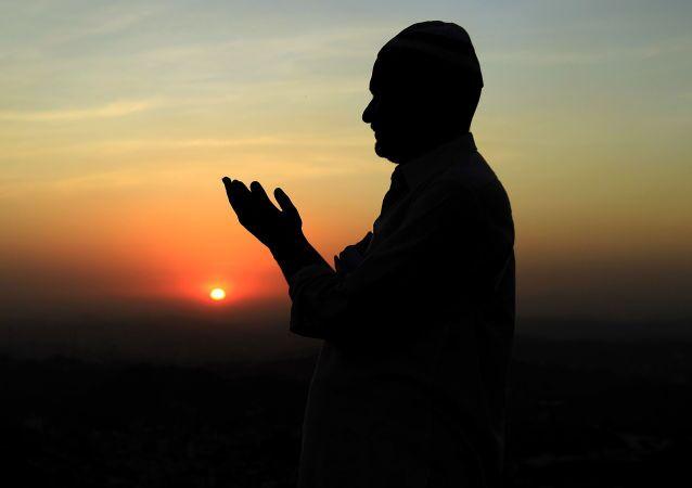 Un musulmán (Archivo)