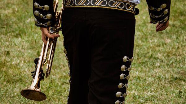 Un mariachi (imagen referencial) - Sputnik Mundo