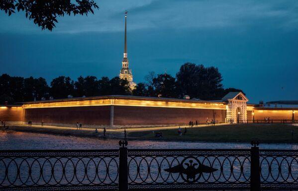 Петропавловская крепость в Санкт-Петербурге - Sputnik Mundo