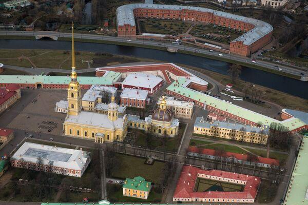 Вид на Петропавловскую крепость - Sputnik Mundo