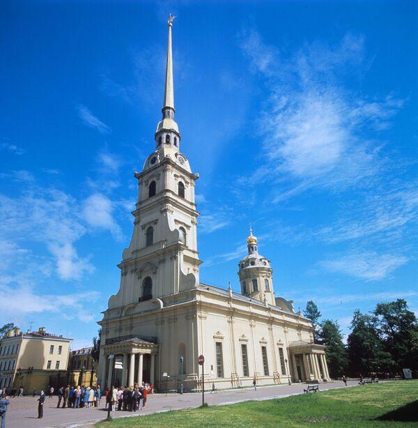Петропавловский собор. Петропавловская крепость - Sputnik Mundo