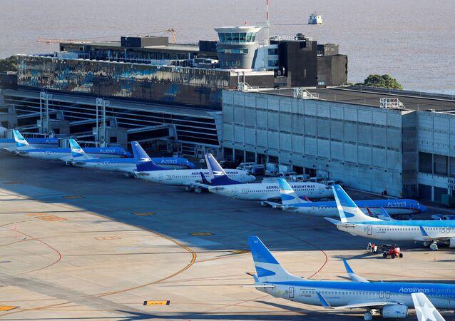 Aeronaves de las Aerolíneas Argentinas