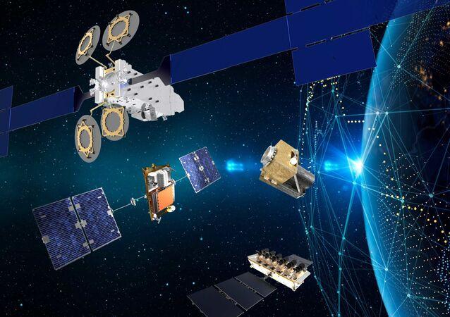 Satélites de Thales Alenia Space