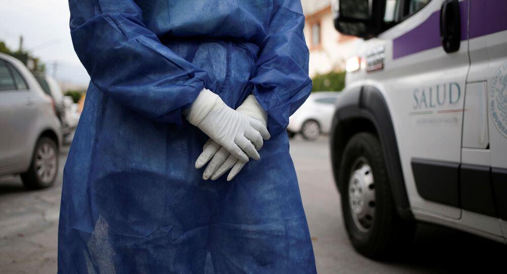 Personal médico en México durante la pandemia de COVID-19
