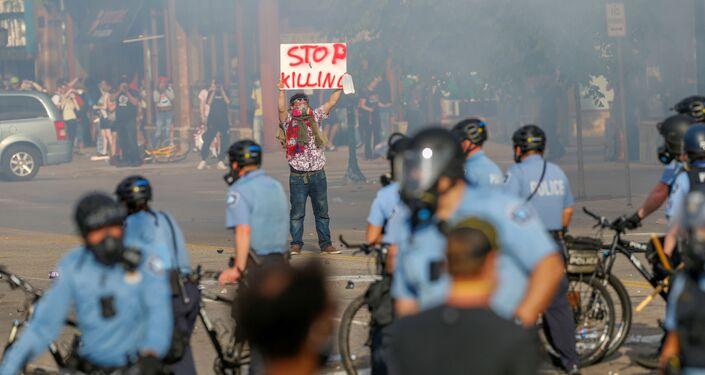 Protestas en Minneapolis