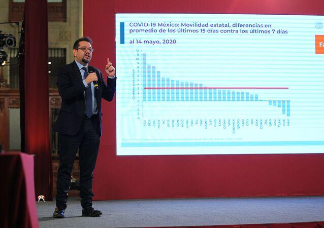 Ricardo Cortés Alcalá, el director general de Promoción de la Salud