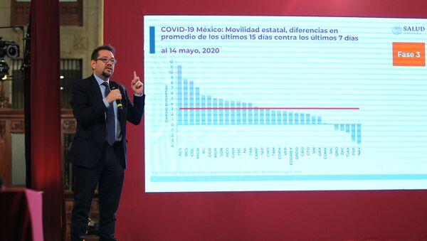 Ricardo Cortés Alcalá, el director general de Promoción de la Salud - Sputnik Mundo