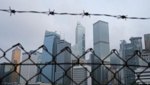 Rascacielos en Hong Kong - Sputnik Mundo