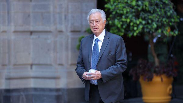 Manuel Bartlett Díaz, el director general de la Comisión Federal de Electricidad - Sputnik Mundo