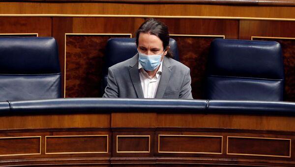 Pablo Iglesias en el Congreso de los Diputados - Sputnik Mundo