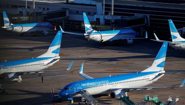 Aviones de Aerolíneas Argentinas - Sputnik Mundo