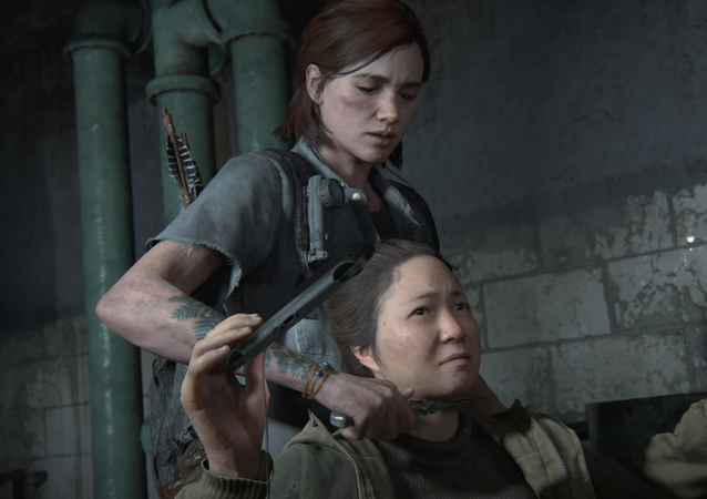 'The Last of Us: Part II', captura de pantalla