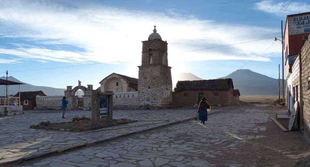 Una iglesia en Bolivia (imagen referencial)