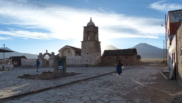 Una iglesia en Bolivia (imagen referencial) - Sputnik Mundo