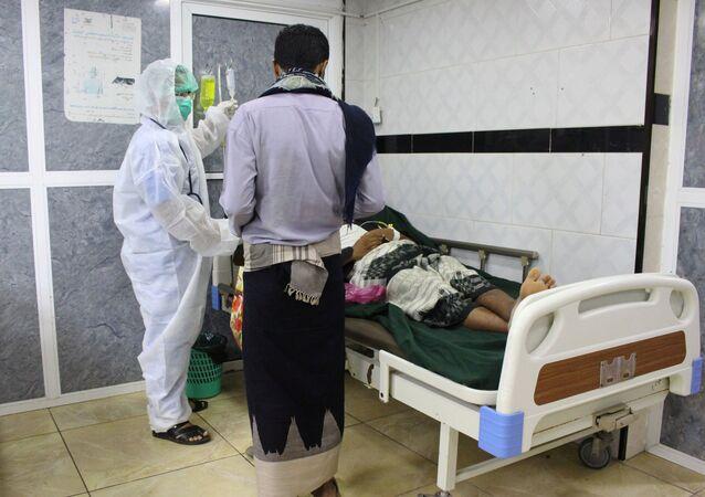 Hospital en Adén, Yemen