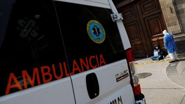 Ambulancia en Ciudad de México - Sputnik Mundo