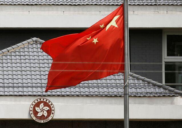 La bandera de China