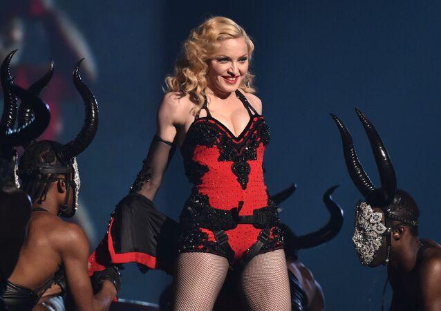 La cantante estadounidense Madonna